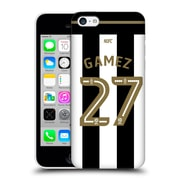 Official Newcastle United Fc Nufc 2016/17 Players Home Kit 1 Gamez Hard Back Case For Apple Iphone 5C