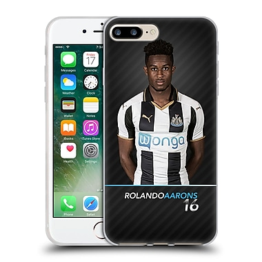 Official Newcastle United Fc Nufc 2016/17 First Team 2 Aarons Soft Gel Case For Apple Iphone 7 Plus