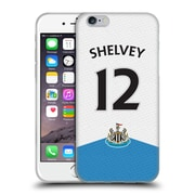 Official Newcastle United Fc Nufc 2015/16 Players Home Kit Jonjo Shelvey Soft Gel Case For Apple Iphone 6 / 6S