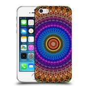 Official Haroulita Mandala Stained Glass Soft Gel Case For Apple Iphone 5 / 5S / Se
