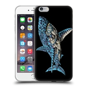 Official Bioworkz Coloured Ornate 1 White Shark Soft Gel Case For Apple Iphone 6 Plus / 6S Plus