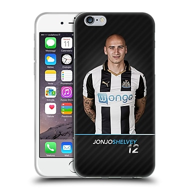 Official Newcastle United Fc Nufc 2016/17 First Team 2 Shelvey Soft Gel Case For Apple Iphone 6 / 6S