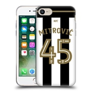 Official Newcastle United Fc Nufc 2016/17 Players Home Kit 1 Mitrovic Soft Gel Case For Apple Iphone 7