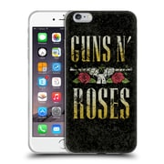 Official Guns N' Roses Key Art Text Logo Pistol Soft Gel Case For Apple Iphone 6 Plus / 6S Plus