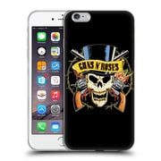 Official Guns N' Roses Key Art Top Hat Skull Soft Gel Case For Apple Iphone 6 Plus / 6S Plus