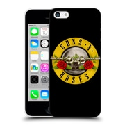 Official Guns N' Roses Key Art Bullet Logo Hard Back Case For Apple Iphone 5C