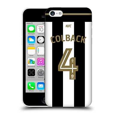 Official Newcastle United Fc Nufc 2016/17 Players Away Kit 1 Colback Hard Back Case For Apple Iphone 5C