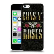 Official Guns N' Roses Key Art Text Logo Pistol Hard Back Case For Apple Iphone 5C