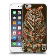 Official Bioworkz Coloured Aves 1 Great Horned Owl 2 Soft Gel Case For Apple Iphone 6 Plus / 6S Plus