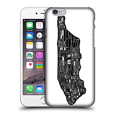 Official Robert Farkas Typography Manhattan Bridge Hard Back Case For Apple Iphone 6 / 6S