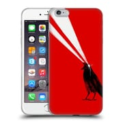Official Robert Farkas Animals 3 Laser Crow Soft Gel Case For Apple Iphone 6 Plus / 6S Plus
