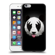 Official Robert Farkas Animals Rockstar Kiss Of A Panda Soft Gel Case For Apple Iphone 6 Plus / 6S Plus