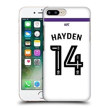 Official Newcastle United Fc Nufc 2016/17 Players Third Kit 2 Hayden Hard Back Case For Apple Iphone 7 Plus