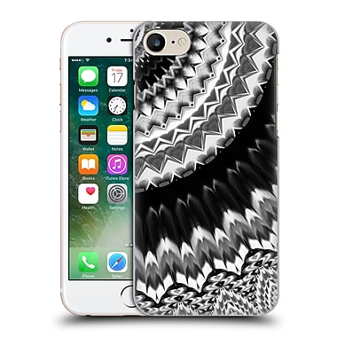 Official Haroulita Monochrome Feathers Hard Back Case For Apple Iphone 7