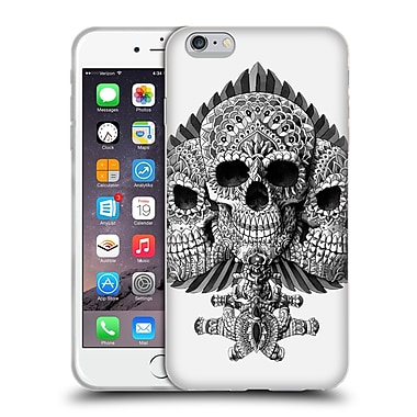 Official Bioworkz Skulls Spade Soft Gel Case For Apple Iphone 6 Plus / 6S Plus