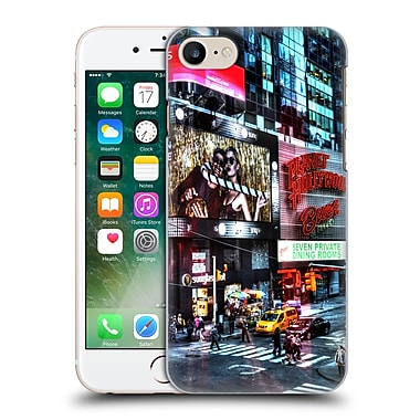 Official Haroulita Places Time Square Hard Back Case For Apple Iphone 7
