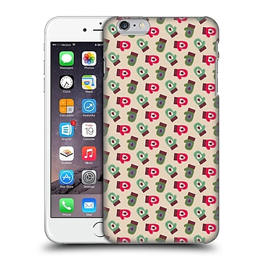 Official Haroulita Patterns Winter Gloves Hard Back Case For Apple Iphone 6 Plus / 6S Plus