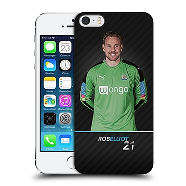 Official Newcastle United Fc Nufc 2016/17 First Team 1 Elliot Hard Back Case For Apple Iphone 5 / 5S / Se