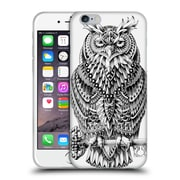 Official Bioworkz Aves Great Horned Owl Soft Gel Case For Apple Iphone 6 / 6S