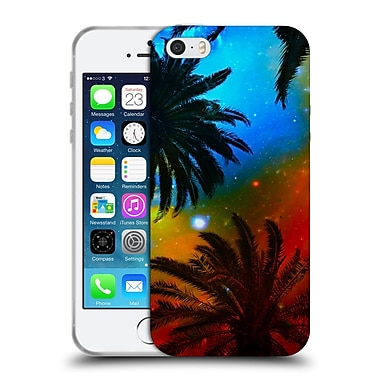 Official Haroulita Fantasy 4 Palm Trees Universe Soft Gel Case For Apple Iphone 5 / 5S / Se