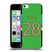 Official Newcastle United Fc Nufc 2016/17 Players Home Kit 1 Sels Soft Gel Case For Apple Iphone 5C