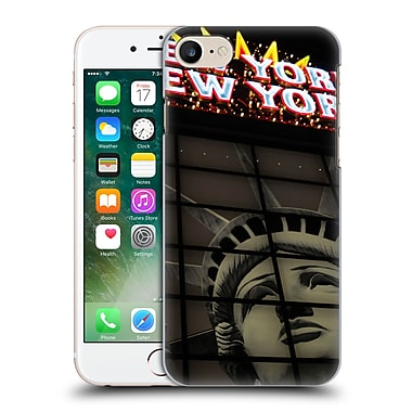 Official Haroulita Places 2 New York Las Vegas Hard Back Case For Apple Iphone 7