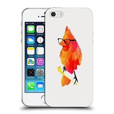 Official Robert Farkas Hipster Animals Punk Bird Soft Gel Case For Apple Iphone 5 / 5S / Se