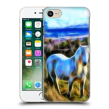 Official Haroulita Places 3 Horse Scotland Hard Back Case For Apple Iphone 7