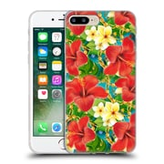 Official Mark Ashkenazi Tropical Hibiscus Soft Gel Case For Apple Iphone 7 Plus