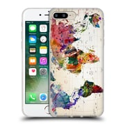 Official Mark Ashkenazi Pop Culture Map Of The World Soft Gel Case For Apple Iphone 7 Plus