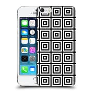 Official Haroulita Monochrome 3D Squares Hard Back Case For Apple Iphone 5 / 5S / Se