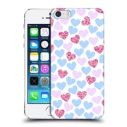 Official Haroulita Patterns Love Hearts Hard Back Case For Apple Iphone 5 / 5S / Se