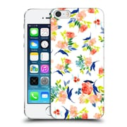 Official Haroulita Patterns Floral Hard Back Case For Apple Iphone 5 / 5S / Se
