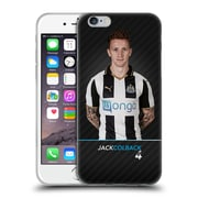 Official Newcastle United Fc Nufc 2016/17 First Team 2 Colback Soft Gel Case For Apple Iphone 6 / 6S