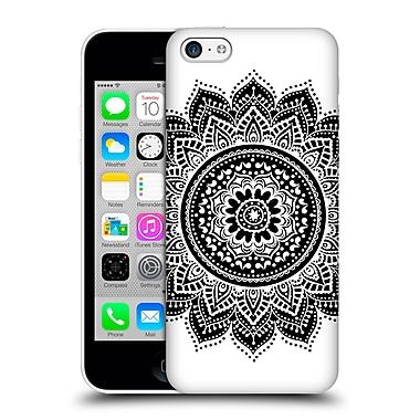 Official Haroulita Monochrome Mandala Hard Back Case For Apple Iphone 5C