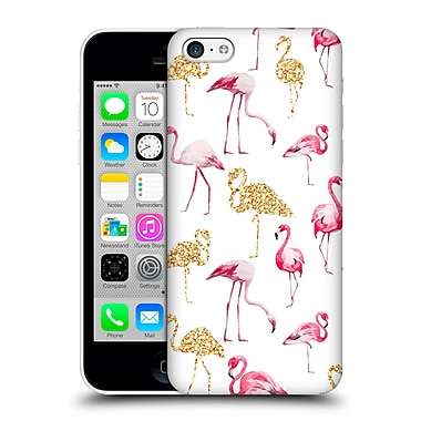Official Haroulita Patterns Flamingo Hard Back Case For Apple Iphone 5C