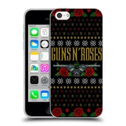 Official Guns N' Roses Christmas Text Logo Pistol Soft Gel Case For Apple Iphone 5C