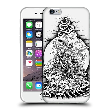 Official Bioworkz Ornate Howling Wolf Soft Gel Case For Apple Iphone 6 / 6S
