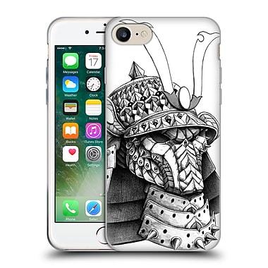 Official Bioworkz Ornate Samurai Helm Soft Gel Case For Apple Iphone 7