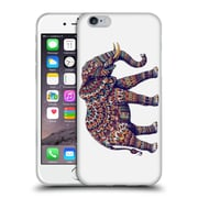 Official Bioworkz Coloured Wildlife 1 Elephant Soft Gel Case For Apple Iphone 6 / 6S