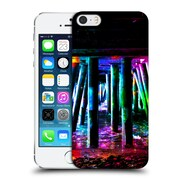 Official Haroulita Places Colourful Pier Hard Back Case For Apple Iphone 5 / 5S / Se