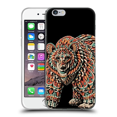 Official Bioworkz Coloured Wildlife 1 Bear Soft Gel Case For Apple Iphone 6 / 6S