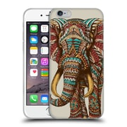 Official Bioworkz Coloured Wildlife 1 Ornate Elephant 1 Soft Gel Case For Apple Iphone 6 / 6S