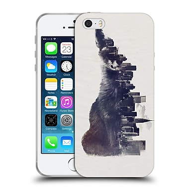 Official Robert Farkas Animals 2 Fox From The City Soft Gel Case For Apple Iphone 5 / 5S / Se