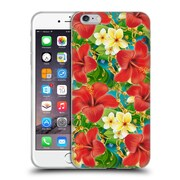 Official Mark Ashkenazi Tropical Hibiscus Soft Gel Case For Apple Iphone 6 Plus / 6S Plus