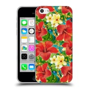Official Mark Ashkenazi Tropical Hibiscus Soft Gel Case For Apple Iphone 5C