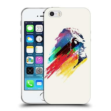 Official Robert Farkas Animals 3 Our Hero Lion Soft Gel Case For Apple Iphone 5 / 5S / Se