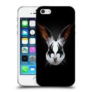 Official Robert Farkas Animals Rockstar Kiss Of A Rabbit Soft Gel Case For Apple Iphone 5 / 5S / Se