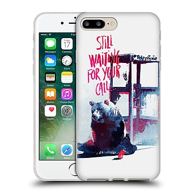 Official Robert Farkas Typography Still Waiting For Your Call Soft Gel Case For Apple Iphone 7 Plus