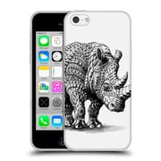 Official Bioworkz Wildlife Rhinoceros Soft Gel Case For Apple Iphone 5C